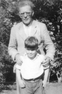 Joseph and Alex Fry in the 1930s